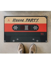 """House Party DD123007MA Doormat 28"""" x 17"""" aos-doormat-28-x-17-lifestyle-front-04"""