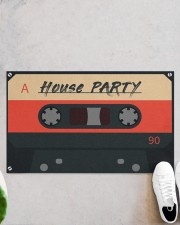 """House Party DD123007MA Doormat 28"""" x 17"""" aos-doormat-28-x-17-lifestyle-front-06"""