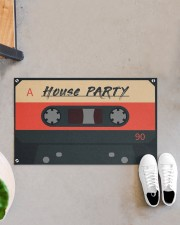 """House Party DD123007MA Doormat 28"""" x 17"""" aos-doormat-28-x-17-lifestyle-front-07"""