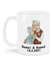 Always And Forever DD011506MA Customize Name Mug back