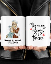 Always And Forever DD011506MA Customize Name Mug ceramic-mug-lifestyle-24