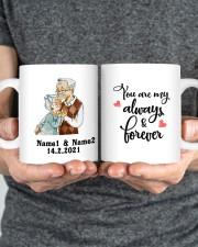 Always And Forever DD011506MA Customize Name Mug ceramic-mug-lifestyle-34