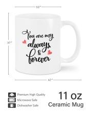 Always And Forever DD011506MA Customize Name Mug ceramic-mug-lifestyle-62