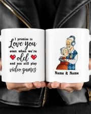 I Promise To Love You DD011118DH Customize Name Mug ceramic-mug-lifestyle-24