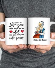 I Promise To Love You DD011118DH Customize Name Mug ceramic-mug-lifestyle-34