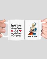 I Promise To Love You DD011118DH Customize Name Mug ceramic-mug-lifestyle-41