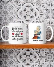 I Promise To Love You DD011118DH Customize Name Mug ceramic-mug-lifestyle-47