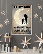 To my son 2 11x17 Poster lifestyle-holiday-poster-1