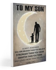 To my son 2 Gallery Wrapped Canvas Prints tile