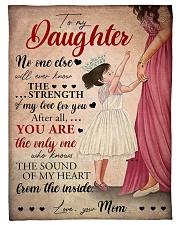 Mother Daughter My Love 2 Blanket Fleece Blanket tile