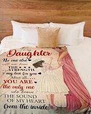 """Mother Daughter My Love 2 Blanket Large Fleece Blanket - 60"""" x 80"""" aos-coral-fleece-blanket-60x80-lifestyle-front-02"""