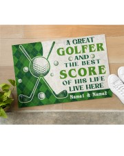 """A Great Golfer DD010721NA Customize Name Doormat 22.5"""" x 15""""  aos-doormat-22-5x15-lifestyle-front-11"""