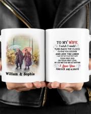 Forever And Always DD010918DH Customize Name Mug ceramic-mug-lifestyle-24