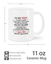 Forever And Always DD010918DH Customize Name Mug ceramic-mug-lifestyle-62