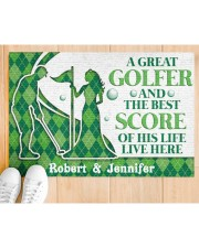 """A Great Golfer DD010823NA Customize Name Doormat 34"""" x 23"""" aos-doormat-34-x-23-lifestyle-front-03"""