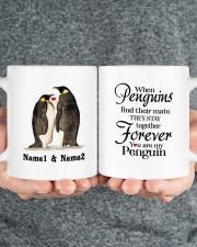 Penguins DD011618MA02 Customize Name Mug ceramic-mug-lifestyle-32