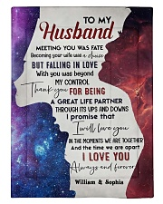 To My Husband DD011613MA Blanket Customize Name Comforter tile