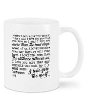 I Love You DD011221MA Customize Name Mug front