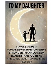 To my daughter 3 11x17 Poster front
