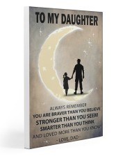 To my daughter 3 Gallery Wrapped Canvas Prints tile