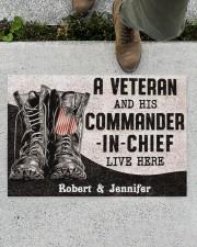 """Commander In Chief DD010408NA Doormat 34"""" x 23"""" aos-doormat-34-x-23-lifestyle-front-01"""