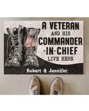"""Commander In Chief DD010408NA Doormat 34"""" x 23"""" aos-doormat-34-x-23-lifestyle-front-04"""