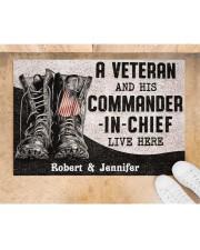 """Commander In Chief DD010408NA Doormat 34"""" x 23"""" aos-doormat-34-x-23-lifestyle-front-05"""