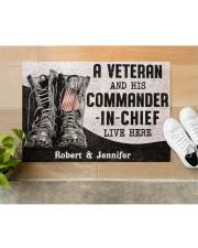 """Commander In Chief DD010408NA Doormat 34"""" x 23"""" aos-doormat-34-x-23-lifestyle-front-12"""