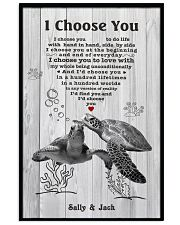 I Choose You 3 Customize Name 11x17 Poster front