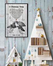 I Choose You 3 Customize Name 11x17 Poster lifestyle-holiday-poster-2