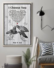 I Choose You 3 Customize Name 11x17 Poster lifestyle-poster-1