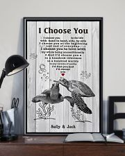 I Choose You 3 Customize Name 11x17 Poster lifestyle-poster-2