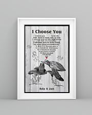 I Choose You 3 Customize Name 11x17 Poster lifestyle-poster-5