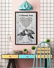 I Choose You 3 Customize Name 11x17 Poster lifestyle-poster-6