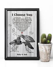 I Choose You 3 Customize Name 11x17 Poster lifestyle-poster-8