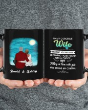 To My Gorgeous Wife DD011101DH Customize Name Mug ceramic-mug-lifestyle-32