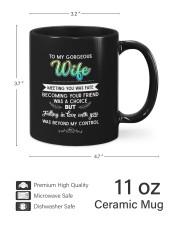To My Gorgeous Wife DD011101DH Customize Name Mug ceramic-mug-lifestyle-62