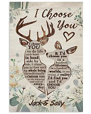 I Choose You Customize Name 11x17 Poster front