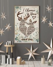 I Choose You Customize Name 11x17 Poster lifestyle-holiday-poster-1