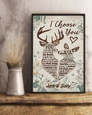 I Choose You Customize Name 11x17 Poster lifestyle-poster-3