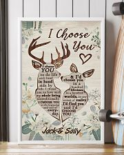 I Choose You Customize Name 11x17 Poster lifestyle-poster-4