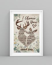 I Choose You Customize Name 11x17 Poster lifestyle-poster-5