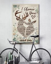I Choose You Customize Name 11x17 Poster lifestyle-poster-7