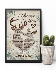 I Choose You Customize Name 11x17 Poster lifestyle-poster-8