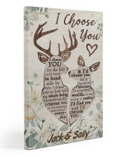 I Choose You Customize Name Gallery Wrapped Canvas Prints tile