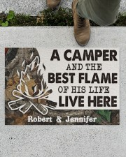 """A Camper DD010814NA Customize Name Doormat 34"""" x 23"""" aos-doormat-34-x-23-lifestyle-front-01"""