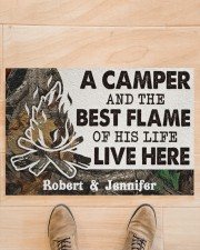 """A Camper DD010814NA Customize Name Doormat 34"""" x 23"""" aos-doormat-34-x-23-lifestyle-front-02"""