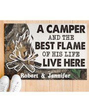 """A Camper DD010814NA Customize Name Doormat 34"""" x 23"""" aos-doormat-34-x-23-lifestyle-front-03"""
