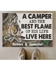 """A Camper DD010814NA Customize Name Doormat 34"""" x 23"""" aos-doormat-34-x-23-lifestyle-front-04"""
