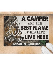 """A Camper DD010814NA Customize Name Doormat 34"""" x 23"""" aos-doormat-34-x-23-lifestyle-front-05"""